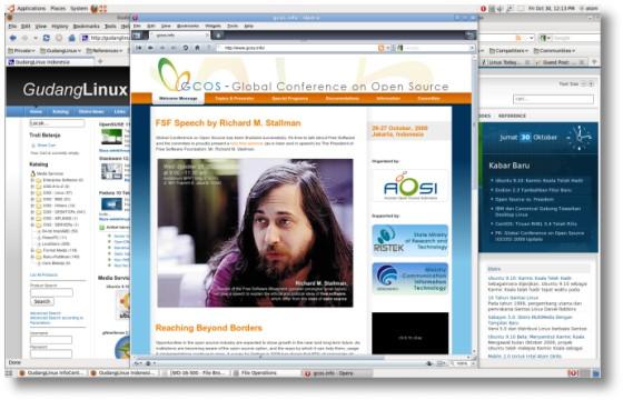 Ubuntu910 screen