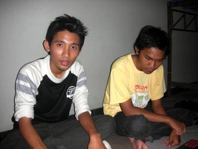 Saya dan Zainul (Mahasiswa PENS + Temen SMKTI)