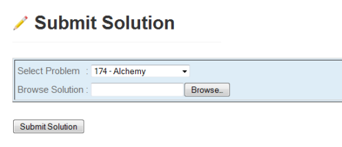 submit solution